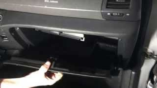 (* Nissan Micra 3 *)( Замена салонного фильтра )( How to Cabin Air Filter Replacement