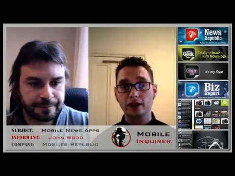 Mobiles Republic News Applications - Mobile Inquirer Interview