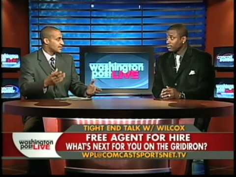 Former Baltimore Raven tight end Daniel Wilcox on Washington Post Live