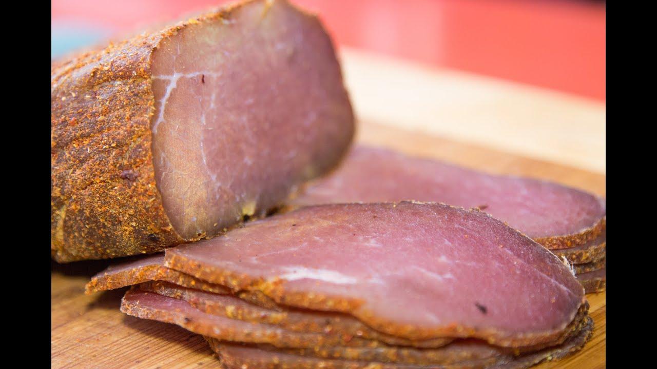 Сыровяленая колбаса в домашних условиях Кулинарные 45