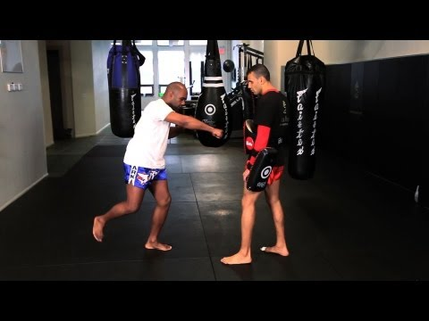 How to Perform the Superman Punch in Kickboxing | Muay Thai Kickboxing | MMA Image 1
