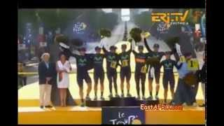 Eritrean Sports Tour de France Weekly Highlights ERi-TV (July 29, 2015)