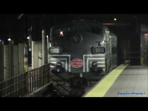 MNR Work Extra #102 Hauls Danbury Railway Museum Equipment to GCT