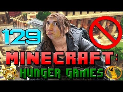 Minecraft: Hunger Games w/Mitch! Game 129 - Don't Block Hit!