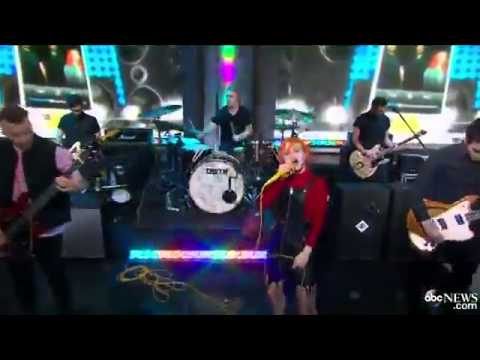 Paramore: Still Into You (good Morning America 08 11) video