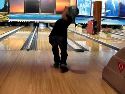 Strong Release Bowling Bowling Release in Super Slow
