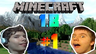 Minecraft 1.8 Ep. 1 - Faces Everywhere!