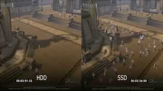 Сравнение HDD vs SSD в игре Lineage 2 Goddes of Destruction на AMD A8-3870k