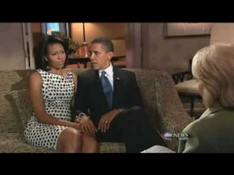 Barbara Walters Special  (Part 4) Michelle & Barack Obama Interview.