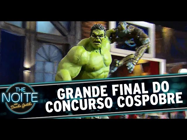 The Noite (19/12/14) - Concurso Cospobre: A Grande Final