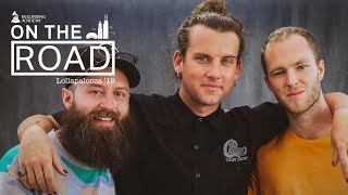 Judah & The Lion On 'Pep Talks' And Spreading Hope Through Music | On The Road At Lollapalooza 2019