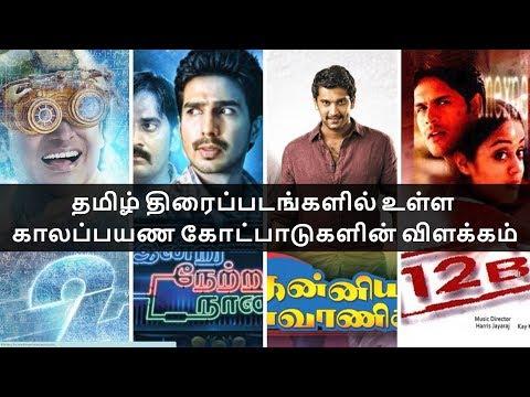 தமிழ் திரைப்படங்களில் உள்ள காலப்பயண கோட்பாடுகளின் விளக்கம் Time Travel Theories In Tamil Movies