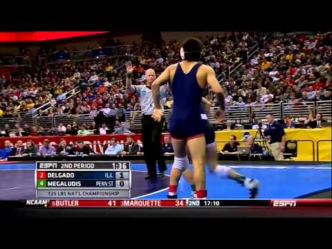 Jesse Delgado - NCAA Wrestling 125 lb. Champion