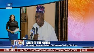 Obasanjo Accuses Buhari Of Planning To Rig Elections 20/01/19 Pt.1 |News@10|