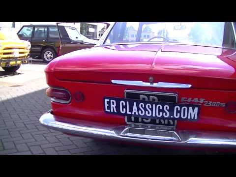 Fiat 2300 S Coupe 1965 6 cylinder partially restored very good condition -VIDEO- www.ERclassics.com