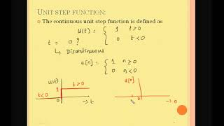 SIGNALS AND SYSTEMS SINGULARITY FUNCTION ECE TUTORIAL Unit step