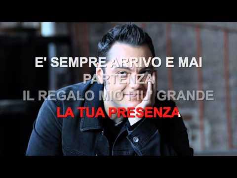 Tiziano Ferro - Il regalo più grande - Karaoke con testo