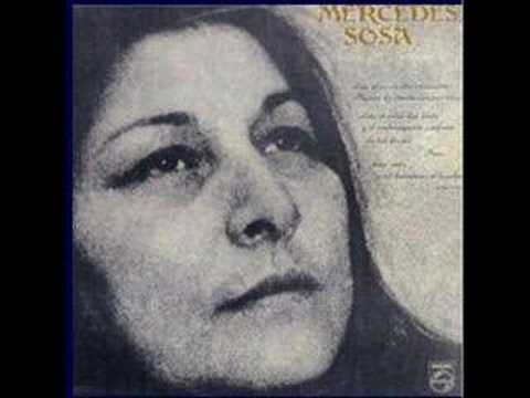 Mercedes Sosa  - Solo le Pido a Dios