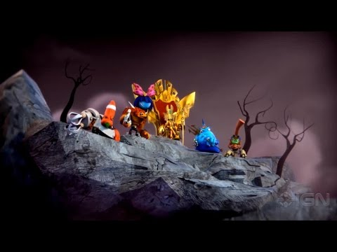 Skylanders Trap Team: Meet CHOPPER (Exclusive Gameplay W ...