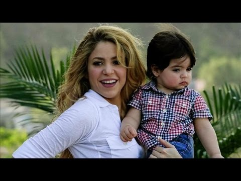 Shakira enseña varios idiomas a su hijo Milan - Gerard Piqué futbolista