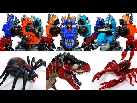 Go Go Dino-Core 2, Defeat Monster Bugs & Dinosaur~!