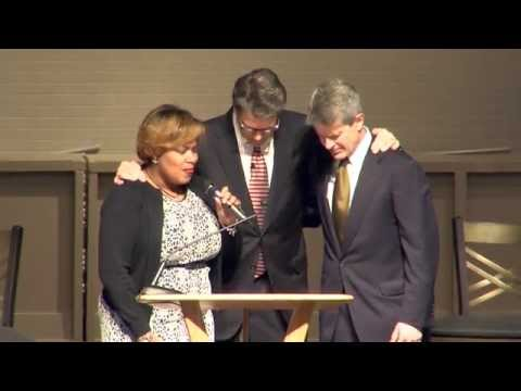 Former Texas Governor Rick Perry in Columbia