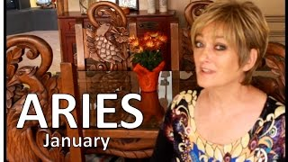 ARIES January 2017 ASTROLOGY - HOROSCOPE - Awesome Start of Your Year!