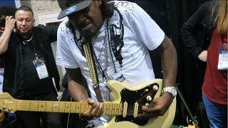 Eric Gales Blowing My Mind At Namm