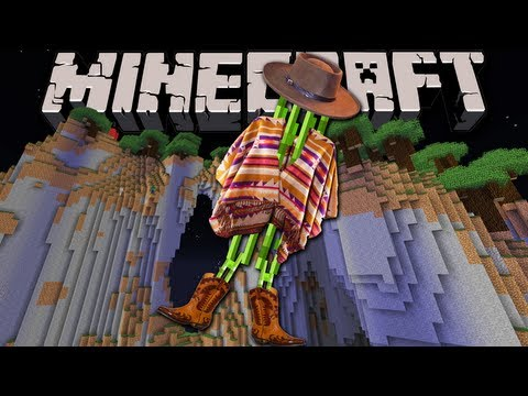 Minecraft 1.7: Amplified Survival Story Wandering Sugar Cain