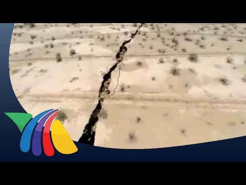 Enorme grieta aparece en Hermosillo | Noticias de Sonora