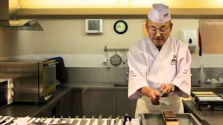 Knife Sharpening With Mino Tsuchida