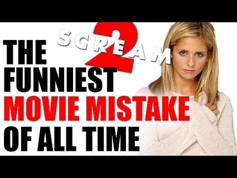 One of the FUNNIEST Movie Mistakes of ALL TIME! - SCREAM 2 (1997)