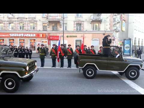 Репетиция парада победы Мурманск 2015 - Murmansk Victory Parade Training 2015
