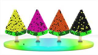 Learn Colors with Ice Cream Watermelon Learning Videos For Children and Kids   Learning Colors Toys