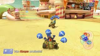 Mario Kart 8 Deluxe Part 126 - Bob-omb-Wurf - Zuckersüßes Schloss