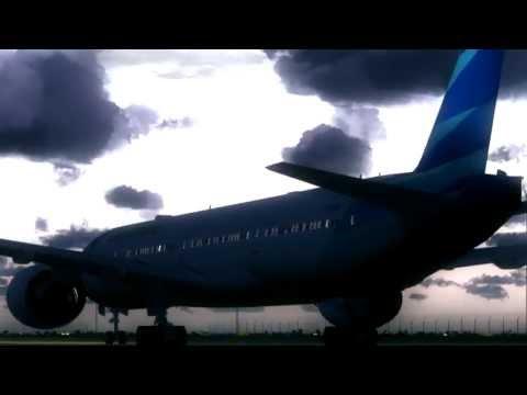 777-300ER Garuda Indonesia First Flight - An FS9 Film [HD]