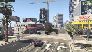 Grand Theft Auto V on Geforce GT 610 Benchmarks 720p and 600p
