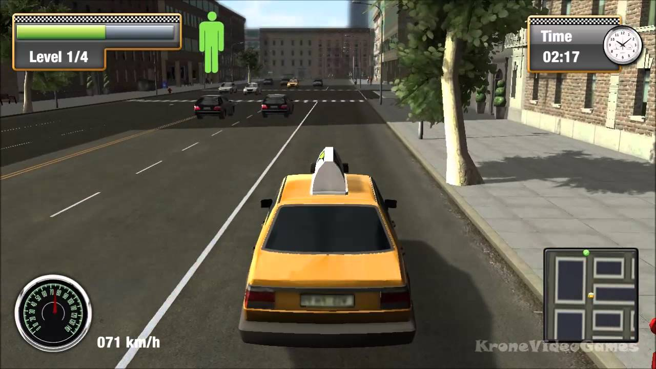 Car Bus And Taxi Games
