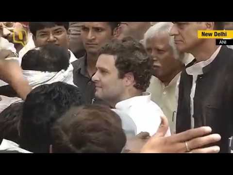 Rahul Gandhi Met Farmers at His Residence in Delhi
