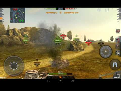 Америка world of tanks blitz т1 тащит.