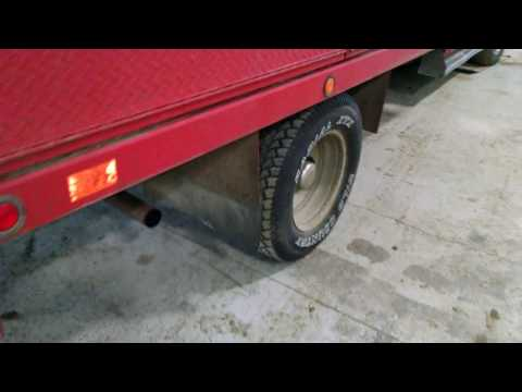 93 GMC 3500 Dually 4x4 Diesel service truck with fuel tank