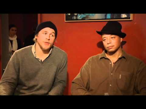 Charlie Hunnam and Terrence Howard talk 'The Ledge'