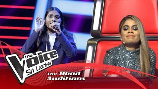 Sayumi Sasanga -Adaraya Nisa  Blind Auditions | The Voice Sri Lanka