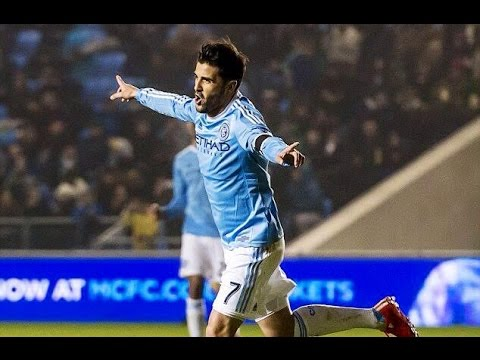 |David Villa ★The first captain of New York City FC ★|HD
