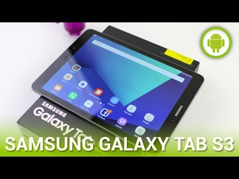 Samsung Galaxy Tab S3. recensione in italiano