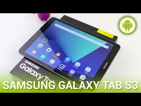 Samsung Galaxy Tab S3, Recensione In Italiano