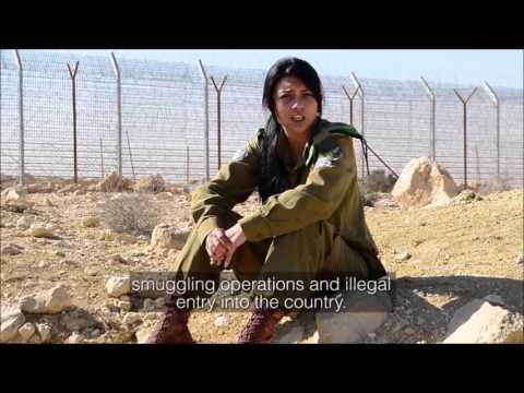 Soldatessa israeliana, araba e cristiana - Israeli soldier, Arab & christian