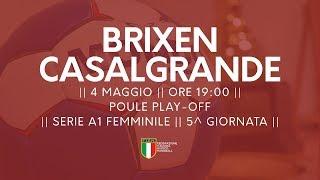 Serie A1F [5^ Play-Off ]: Brixen - Casalgrande 29-26