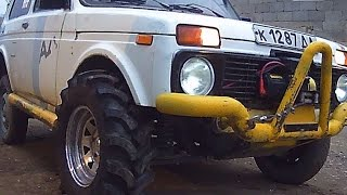#318. Lada Niva 4x4 Trial [RUSSIAN CARS]