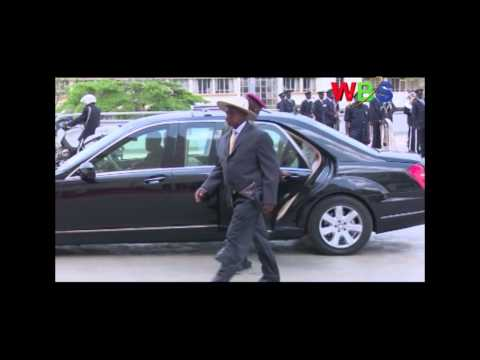 President Museveni has told the US President Barrak Obama that he is still a young man